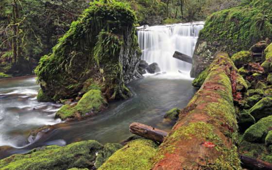 водопад, amazing, ipad