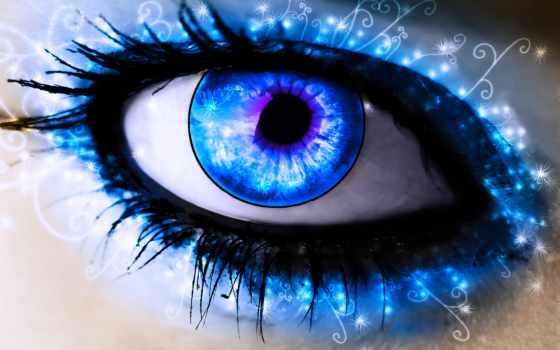 blue, eyes, глаз