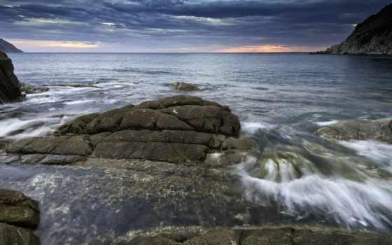 bay, камни, rocks, пляж, desktop, free,