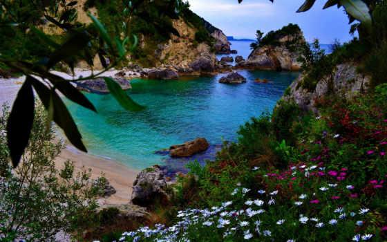 greek, парга, greece, греции, пляж, побережье, kryoneri, travel, картинка, piso,