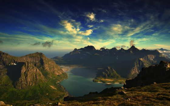 крючком, природа, очень, взгляд, озеро, красивая, салфетка, гора, share,