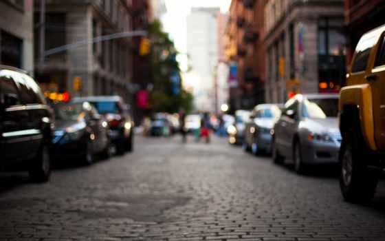 город, машины, дорога