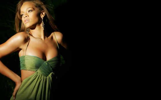 rihanna, рианна, платье, sos, зелёный, live, video,