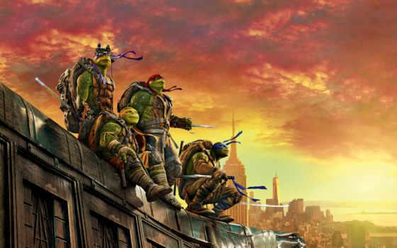 shadows, turtles, ninja, mutant, teenage, out, шреддер, watch,