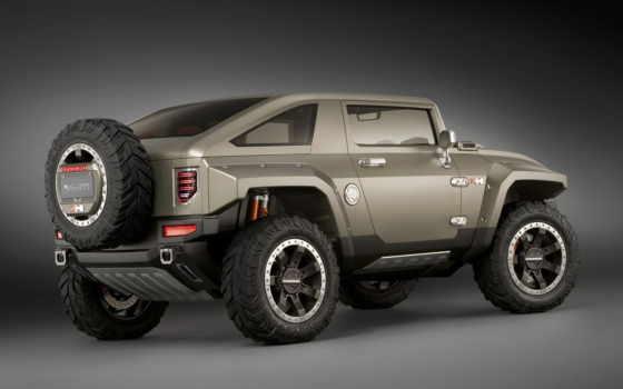 hummer, hx, concept, авто, jeep, general,