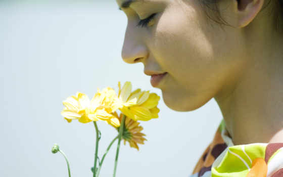 cvety, цветов, запах, нюхает, цветы, you, научиться, которые,