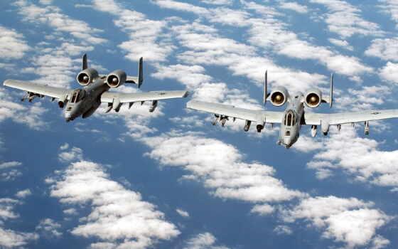 thunderbolt, warthog, самолёт