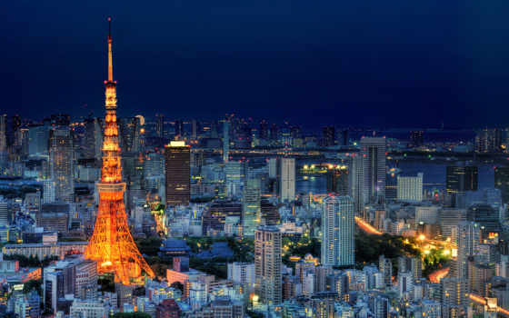 tokyo, japan Фон № 23585 разрешение 1920x1200