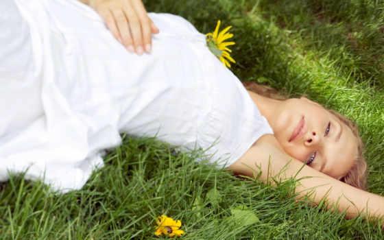 девушка, траве, платье, devushki, трава, зеленой, сайте, нашем, банка,
