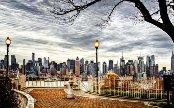new, нью, york, город, небоскребы, сша, американский, дома,