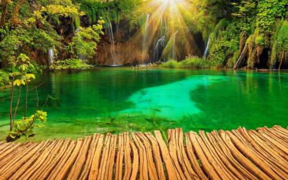 фон, waterfalls, pula, images, plitvice, водопад, хорватия,
