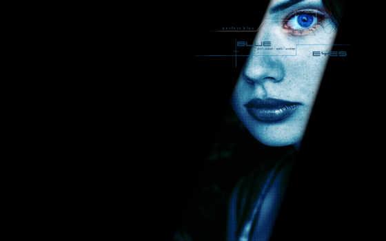 black, blue, переходов, eyes, art, girl, лицо, photo, windows, eye, взгляд, dark, desktop, iphone,