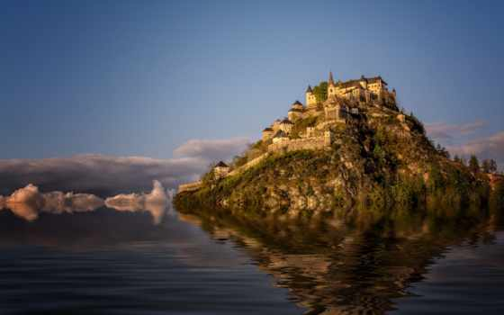tapety, pulpit, rock, castle, darmowe, hintergrundbild, alcatel, hochosterwitz,