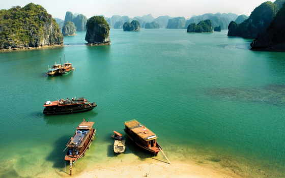 vietnam, halong, море, посещение, природа, картинку, water, побережье, best,