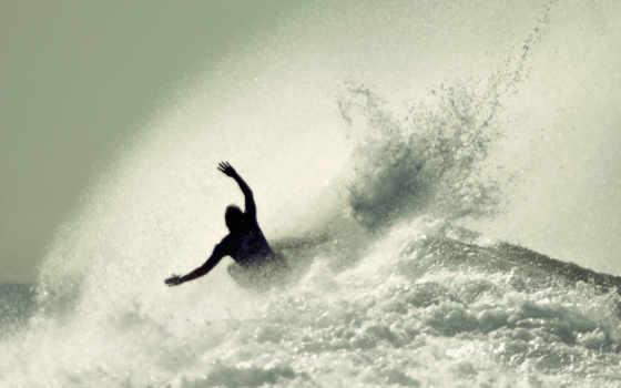 море, человек, спорт