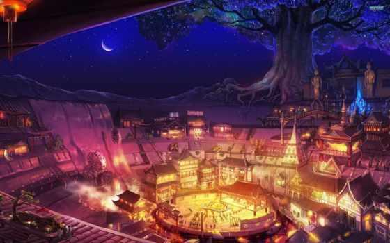 fantasy, art, city Фон № 46878 разрешение 2560x1600