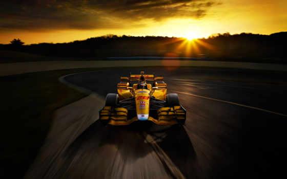 honda, car, race