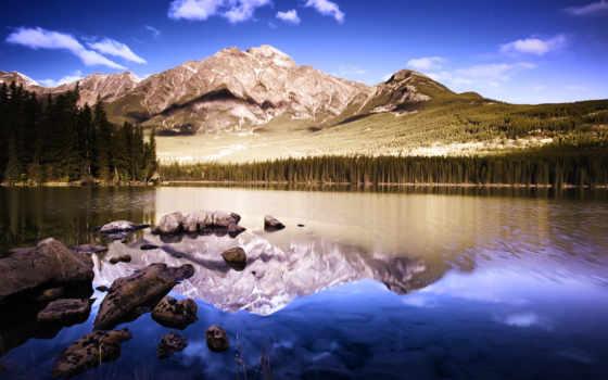 природа, гора, landscape