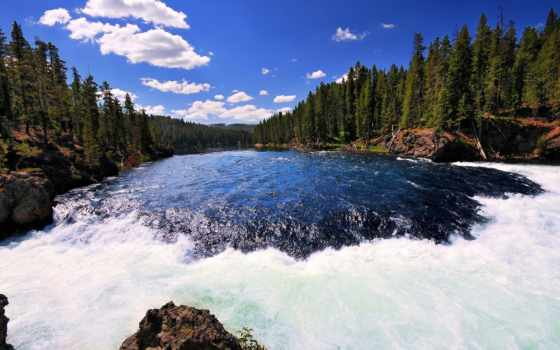 yellowstone, park, national, йеллоустоун, supervolcano, природы,