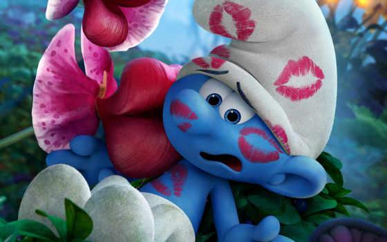 smurfs, lost, деревня, смурфики, затерянная, animated, анимация, сниматься, movie,