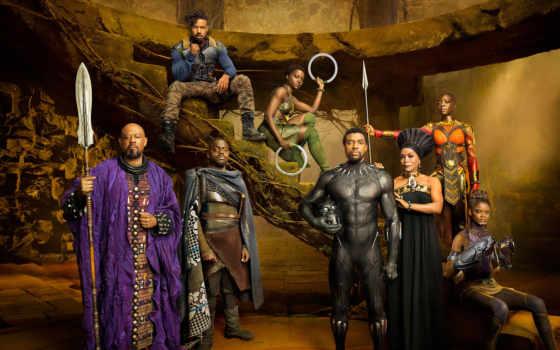 фильма, panther, черная, кадры, black, movie, that, сниматься, marvel,