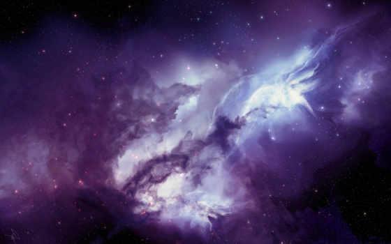 galaxy, nebula