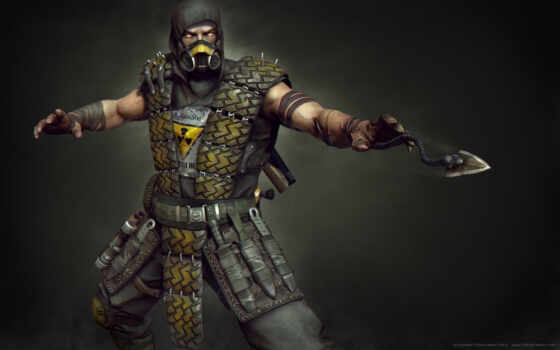 scorpion, kombat, mortal