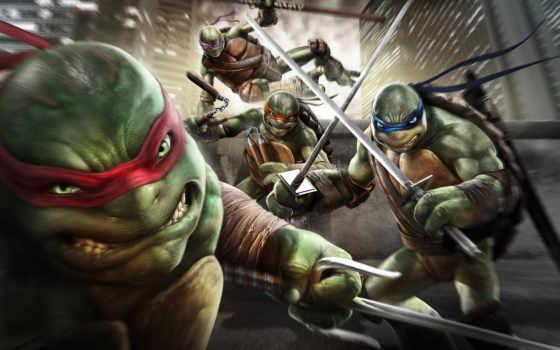 ninja, turtles, mutant Фон № 118464 разрешение 2880x1800