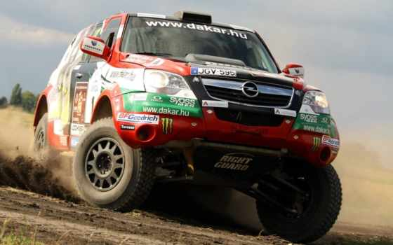 rally, dakar, opel