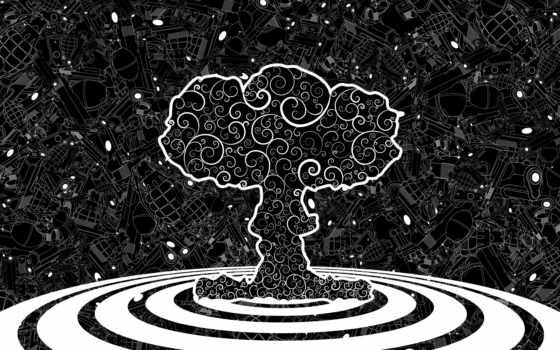 bang, nuclear, оружие, mushroom,