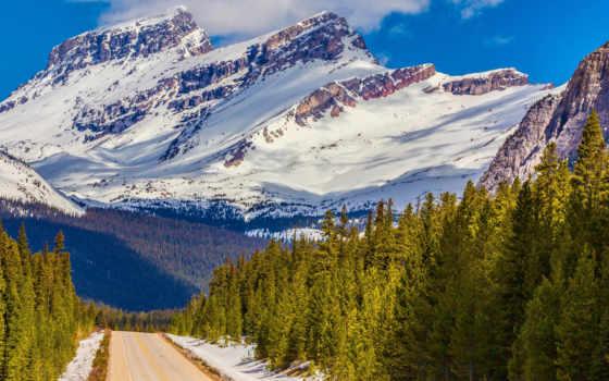 канада, banff, desktop, national, park, альберта, озеро,
