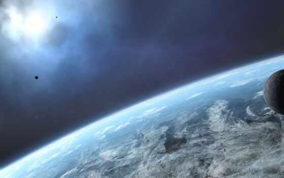 космос, планета Фон № 24647 разрешение 1920x1200