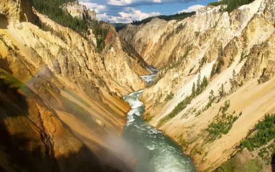 река, долина, речная