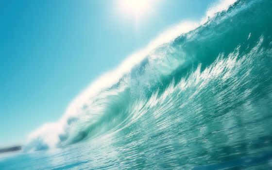 океана, лежак, better, волна,
