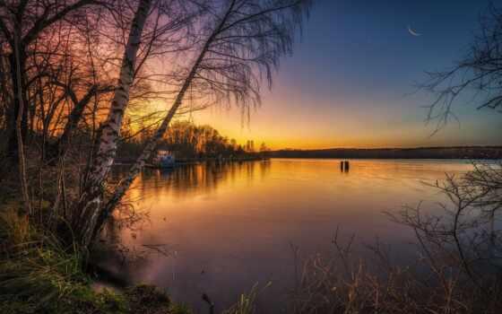 landscape, natural, pemandangan, озеро, xiaomus, дерево
