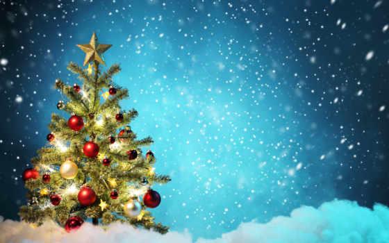 christmas, дерево, год