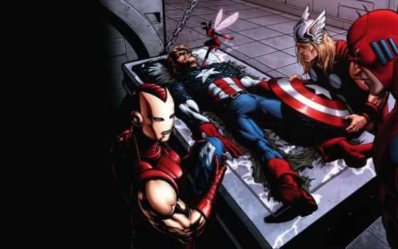 captain, america, комикс