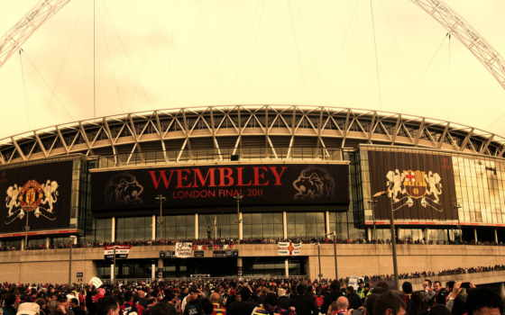 wembley, cars, стадион