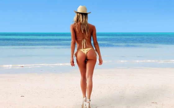 спины, девушка, devushki, девушек, пляже,