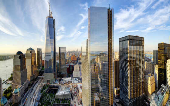 new, york, нью, сша, небоскребы, nyc, город, здания, usa,