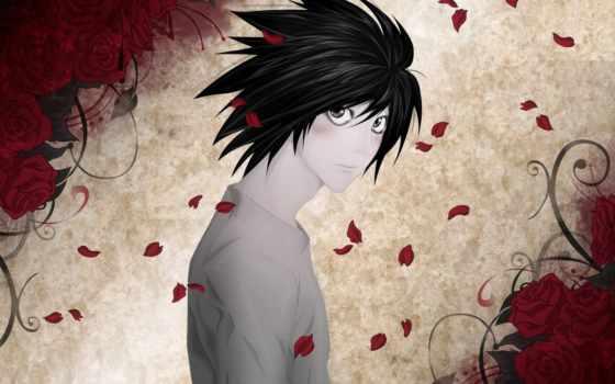 anime, нота, notebook, смерти, смерть, героями, members,