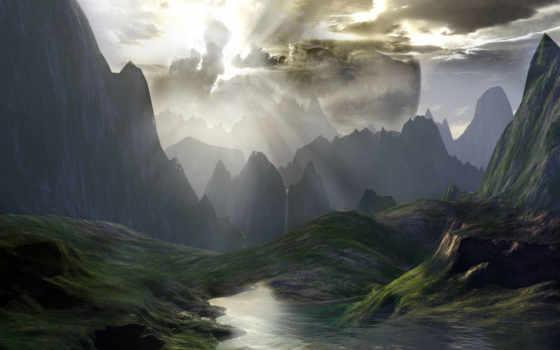 fantastic, landscape,