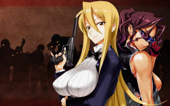 Highschool of the Dead.