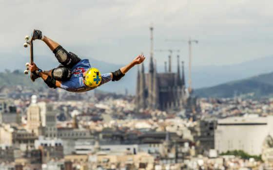 skateboard, прыжок, android, коньки, спорт, iphone, boy,