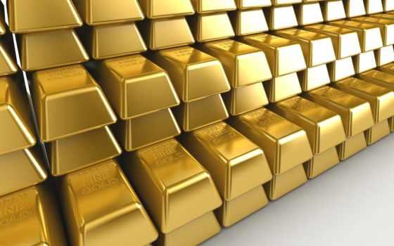 gold, слиток, металл, красивые, пирамида, заставки,
