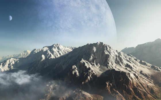 горы, планета