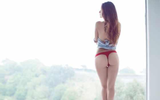 ass, девушка, модель