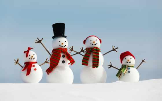 christmas, снег, снеговик, праздник, merry, winter, new, семья, happy, год,