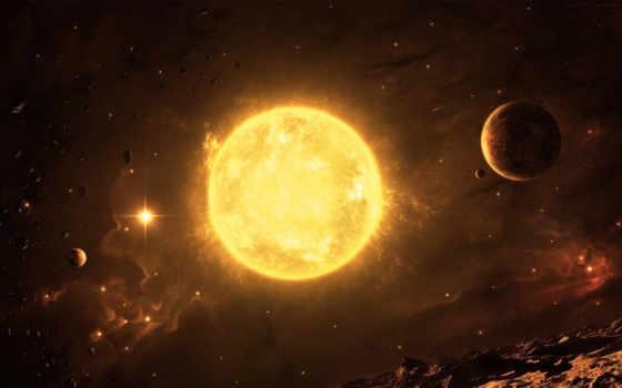sun, планеты, звезды, planet, других, cosmos, заставки, among, system, metamfetavitami,
