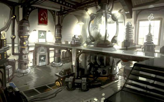 singularity, soviet, лаборатория, action, fps,